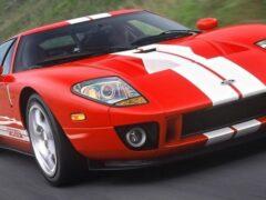 На аукционе продаётся культовый Ford GT из середины «нулевых»
