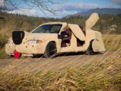 Самые необычные автомобили для киногероев