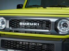 Suzuki Jimny четвертой генерации получил пятидверную версию