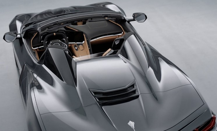 Chevrolet Corvette С8, кабриолет