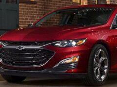 GM отправит в отставку седан Chevrolet Malibu