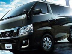 Nissan показал роскошный микроавтобус NV350 Caravan
