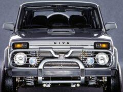 Новую Lada 4×4 построят на французской модульной архитектуре
