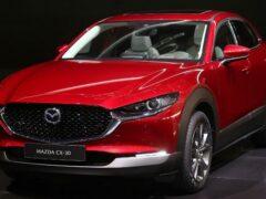 Новый кроссовер Mazda CX-30 обзаведется электрической версией