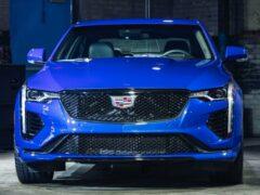 Cadillac представил обновленный седан Cadillac CT4