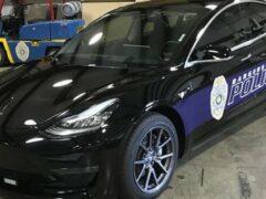 В США на службу в полиции заступил Tesla Model 3