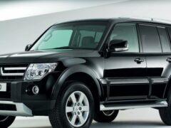 Mitsubishi Pajero может возродиться на платформе Nissan Patrol
