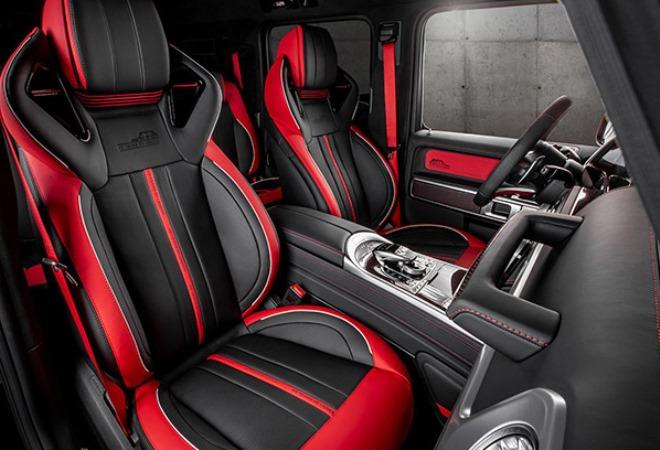 Mercedes-Benz G63 AMG, тюнинг, салон