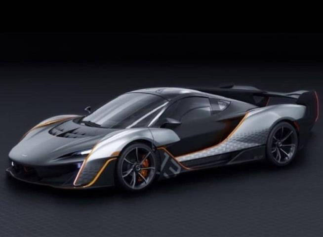 гиперкар от McLaren