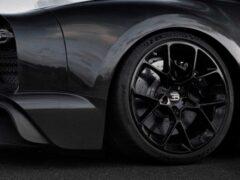 Michelin предложил усиленные шины для Bugatti Chiron
