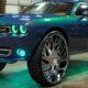 Американец построил эксклюзивный Dodge Challenger на 34-дюймовых колесах