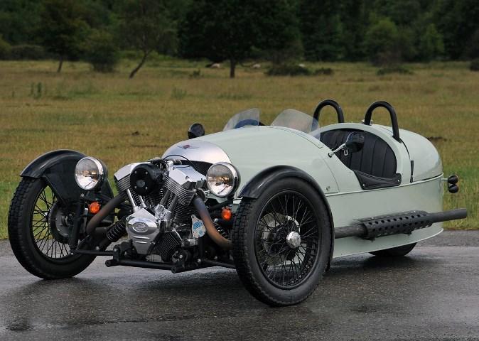 3 Wheeler, трехколесный автомобиль