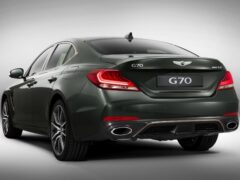 Genesis представил обновленный седан Genesis G70