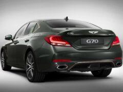 Genesis обновил седан G70