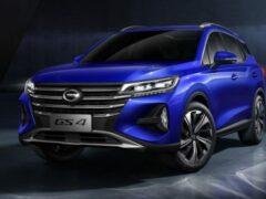 GAC Motor обновил свой кроссовер GS4 для рынка России