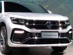 Новый кроссовер-купе Volkswagen Tylcon готов к дебюту