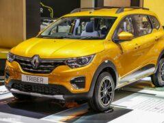 Бюджетный вседорожник Renault Triber выходит на глобальный рынок