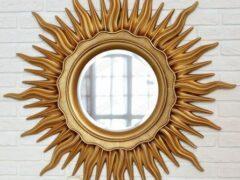 Круглое зеркало в раме — как выбрать