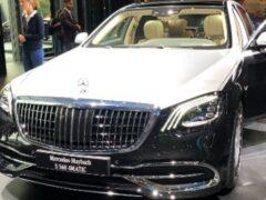 Состоялся мировой дебют обновленного Mercedes-Maybach S560 4Matic