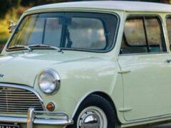 Появились фото оригинального Morris Mini с пробегом в 430 км