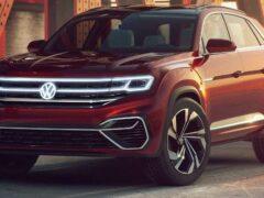 Дебют обновленного Volkswagen Teramont (Atlas) состоится в Чикаго