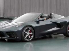 Chevrolet Corvette C8 в кузове «кабриолет» появится в октябре