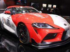 После апгрейда Toyota GR Supra стала мощнее и быстрее