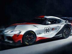 Появилась информация о гоночной Toyota GR Supra GT4