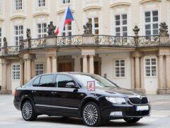 Компания Skoda выпустила Superb и Kodiaq для чешского президента
