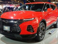 Новый паркетник Chevrolet Blazer станет семиместным в Китае