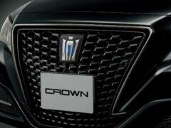 Toyota Crown в версии Sport Style презентовали в Японии