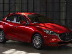Хэтчбек Mazda 2 получит мягкую гибридную систему