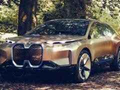 Новый BMW iNEXT получает запас хода до 580 километров