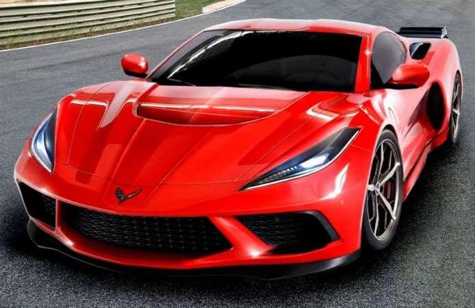 Corvette С8