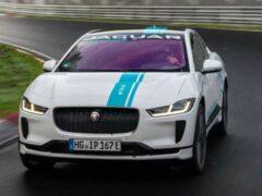 Jaguar предлагает «зеленые» пассажирские круги по Нюрбургрингу