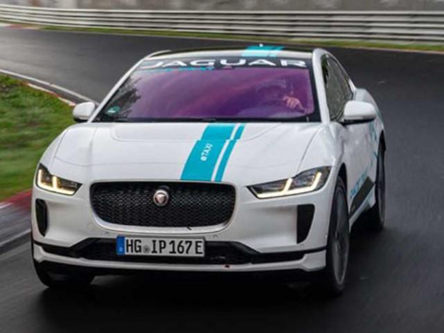Jaguar I-Pace, электрокар, тест