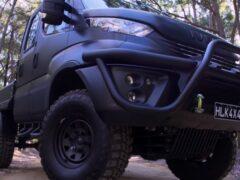 Iveco выпустила новую модель внедорожника Daily 4х4