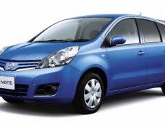 Новый Nissan Note станет трехрядным и получит сдвижные двери