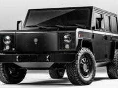 Bollinger объявил цены на электрическую копию внедорожника Hummer