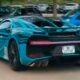 Уникальный Bugatti Chiron Sport Zebra замечен на заводе