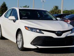 Toyota Camry и Avalon стали полноприводными