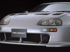 В Сети показали концепт футуристичной Toyota Supra 3000GT