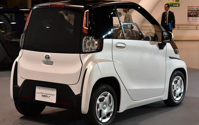 Toyota ультракомпактный кроссовер BEV