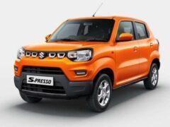 Бюджетный кроссовер Suzuki S-Presso получил версию s-CNG