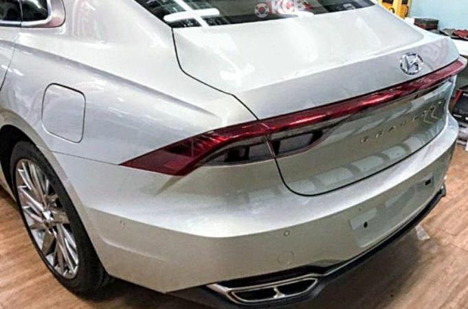 Hyundai Grandeur новый седан