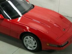На продажу выставлен Corvette ZR1 1991 года почти без пробега