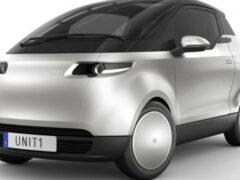 В продажу поступил электрический автомобиль Uniti One City