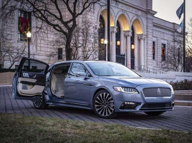 Lincoln Continental, суицидальные двери