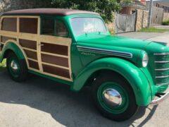 В России продают фургон «Москвич 401-422» по прозвищу «Буратино»