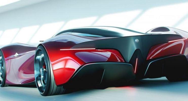 Alfa Romeo Stradale концепт гиперкара